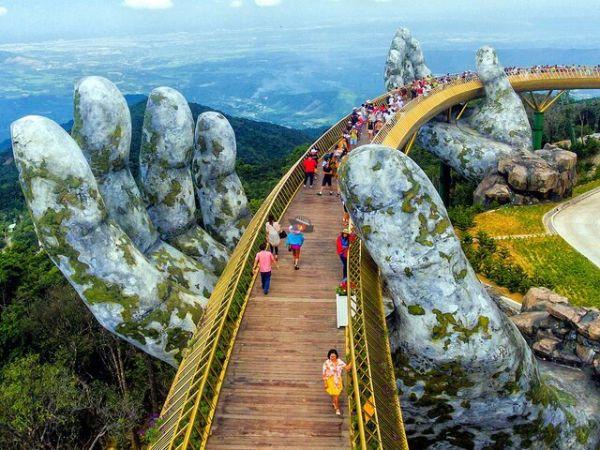 Hand Bridge Vietnam